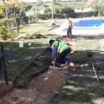 Adecuación de jardines en mal estado