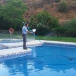 Mateniemiento del agua de la piscina