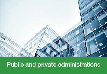 Public and private administrations