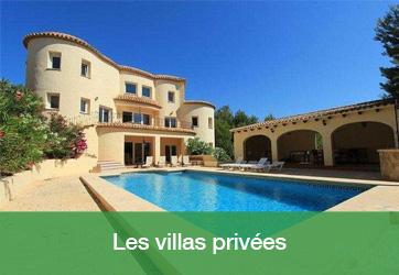 Les villas privées