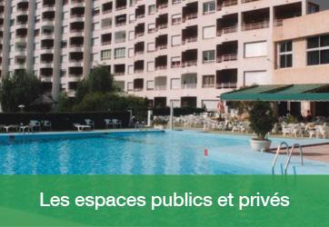 Les espaces publics et privés